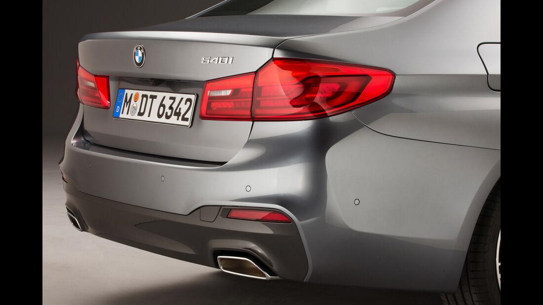 BMW 540i xDrive, Heckleuchte