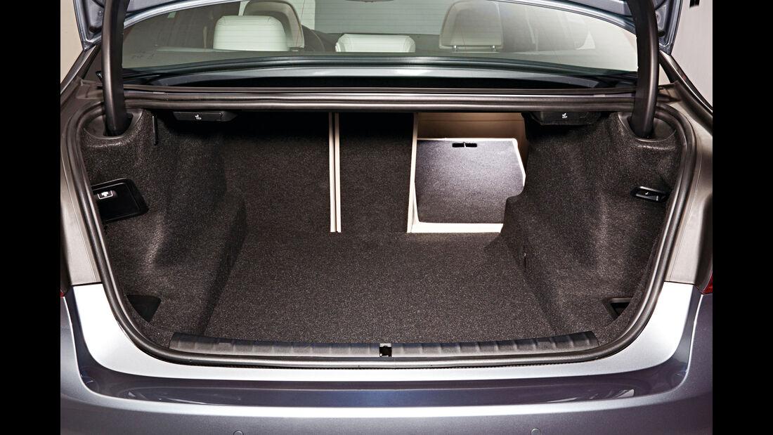 BMW 540i xDrive, Kofferraum
