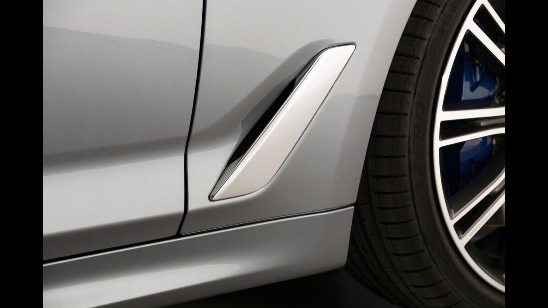 BMW 540i xDrive, Luftführung