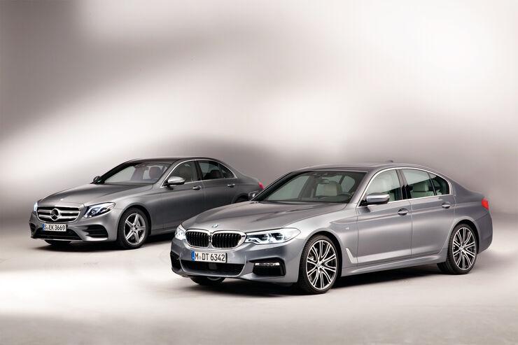 BMW 540i xDrive, Mercedes E 400 4Matic