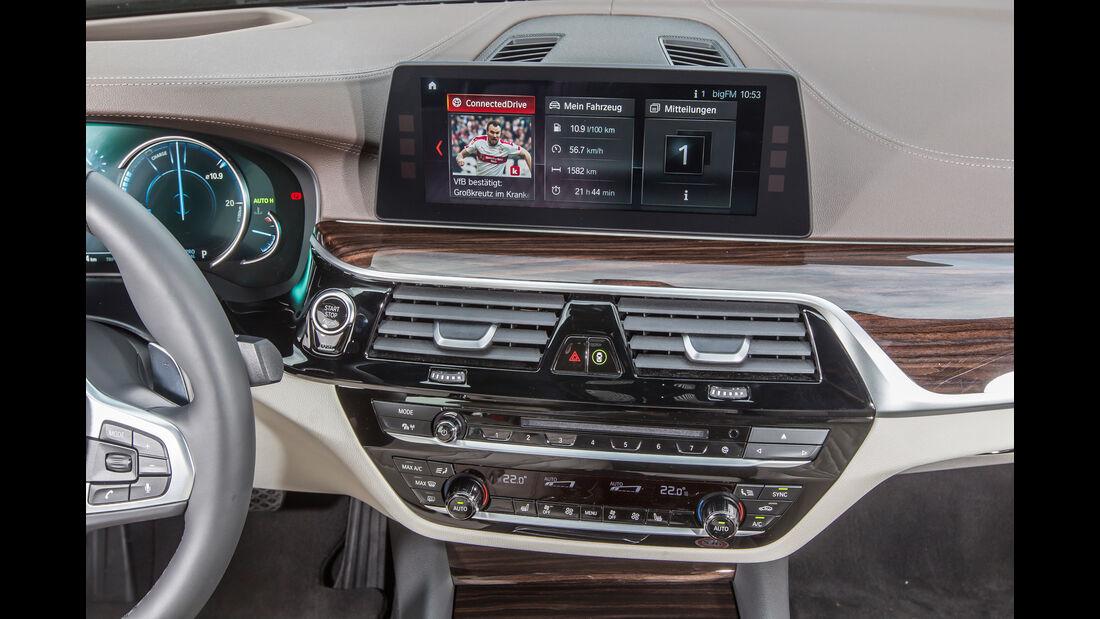 BMW 540i xDrive, Mittelkonsole