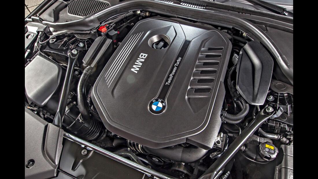 BMW 540i xDrive, Motor