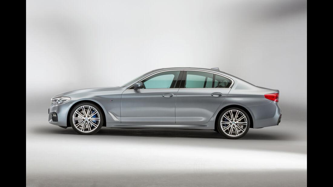BMW 540i xDrive, Seitenansicht