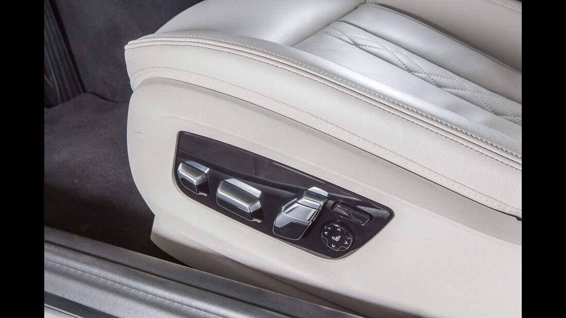 BMW 540i xDrive, Sitzverstellung