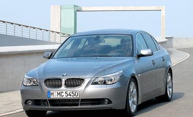 BMW 545i Sedan