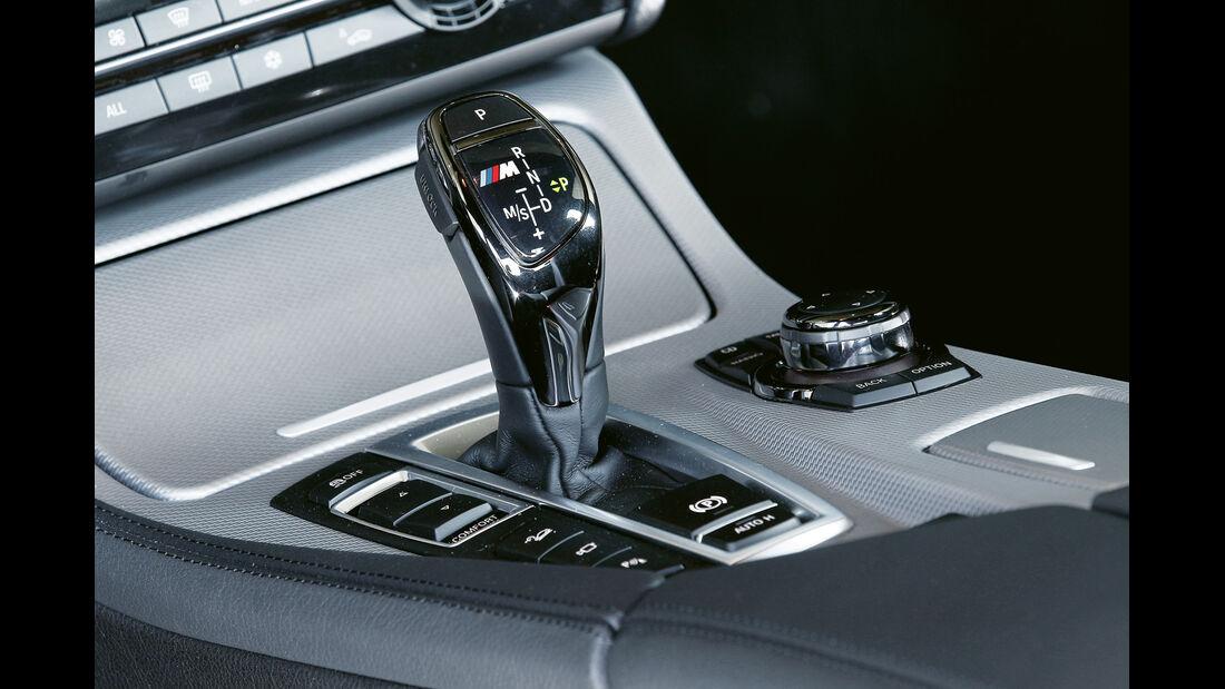 BMW 550d xDrive, Schaltknauf, Schalthebel
