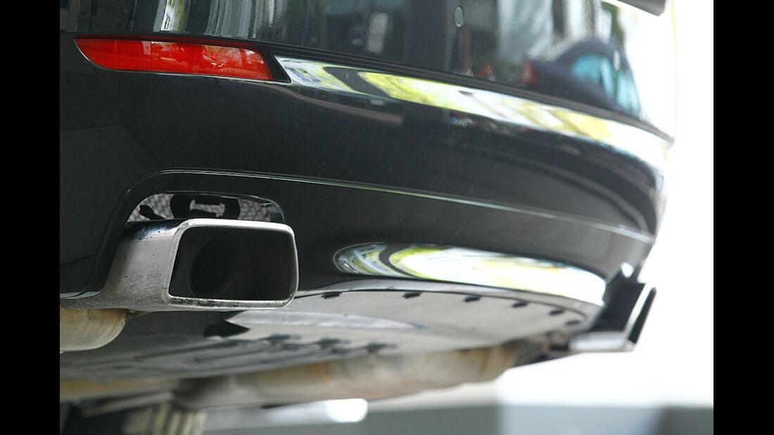 BMW 550i, Detail, Auspuffanlage