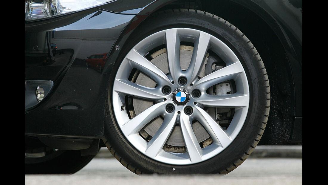 BMW 550i, Rad, Radkappe, Felge