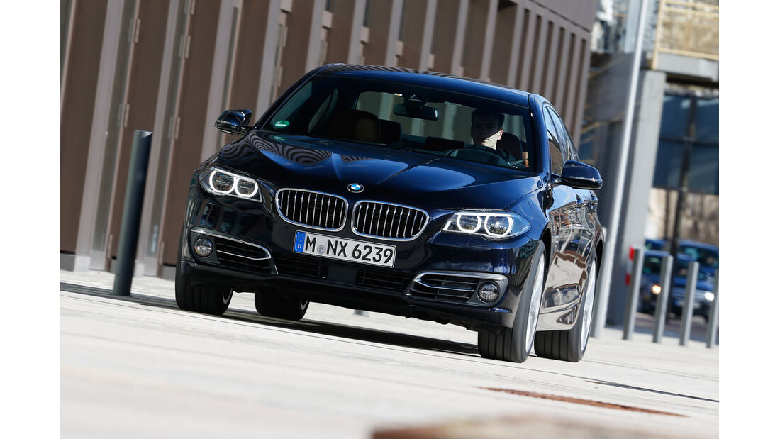 BMW 550i xDrive, Frontansicht