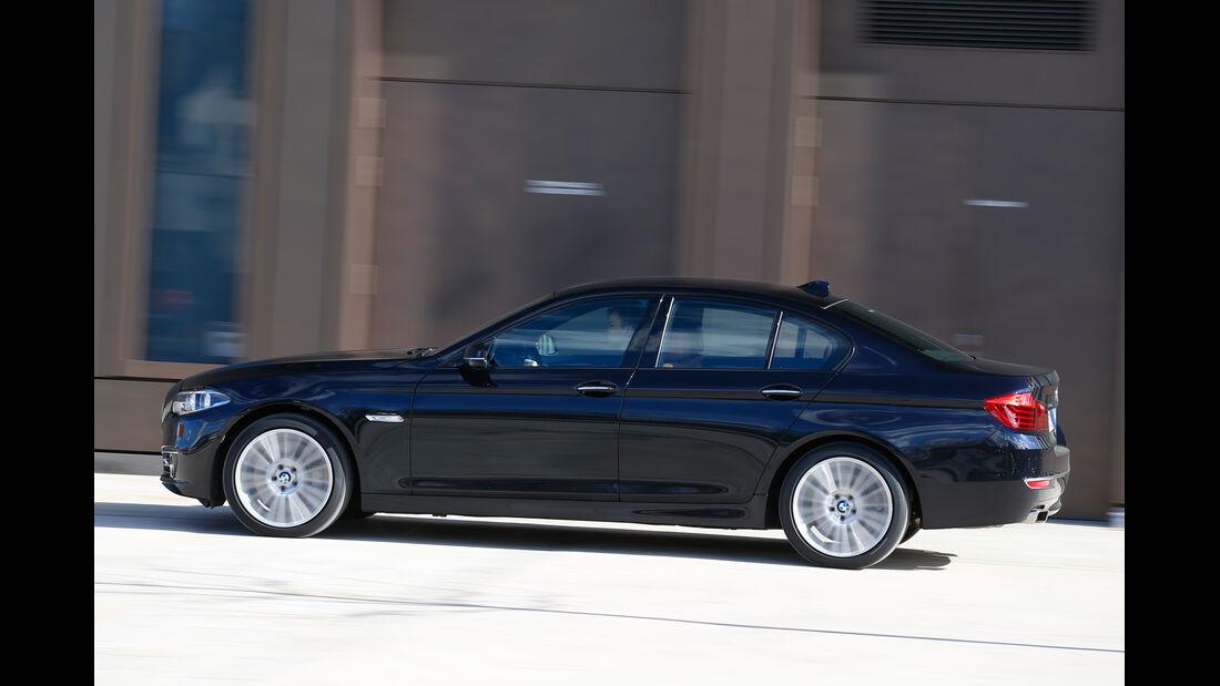 BMW 550i xDrive, Seitenansicht
