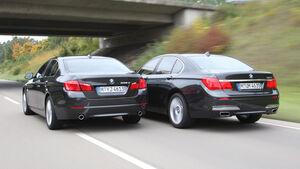 BMW 5er, BMW 7er