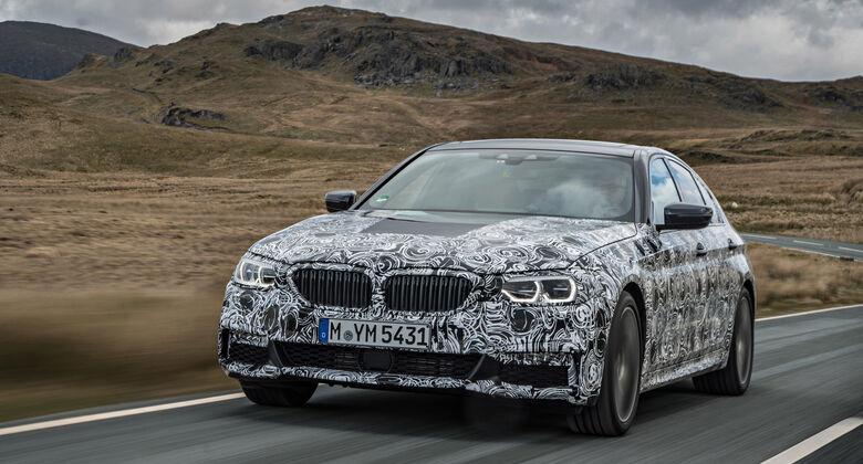 BMW 5er, Baureihe G30, Erprobungsfahrt, Sperrfrist
