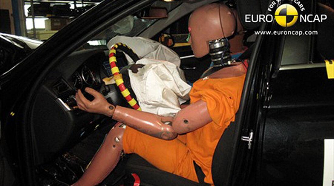 BMW 5er Crashtest