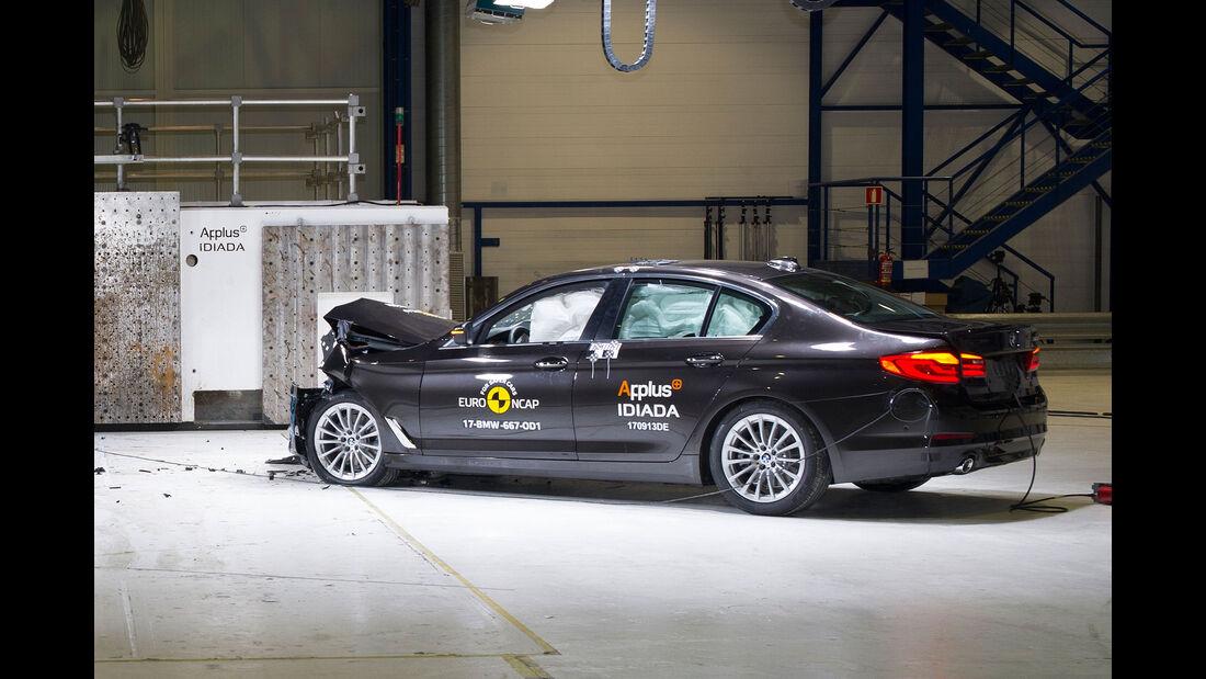 BMW 5er EuroNCAP-Crashtest
