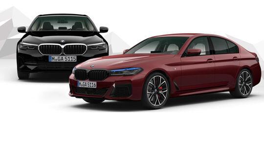 BMW 5er Facelift 2020 Konfigurator