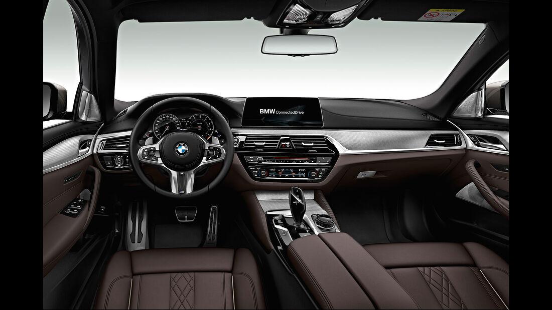 BMW 5er G30 (2017) Limousine Interieur