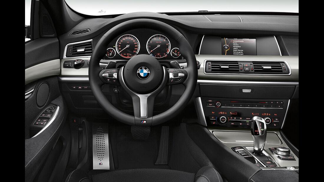 BMW 5er Gran Tourismo, Facelift 2013, Cockpit M-Sportpaket