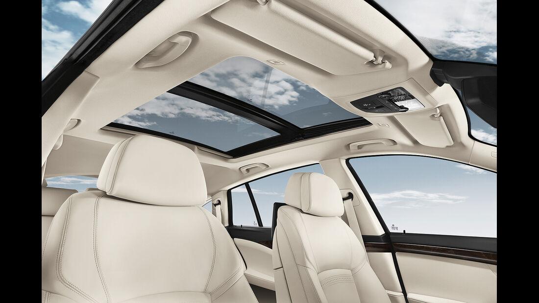 BMW 5er Gran Tourismo, Facelift 2013, Dachfenster