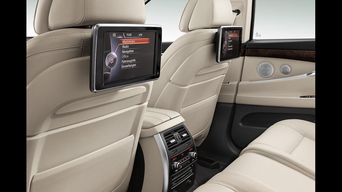 BMW 5er Gran Tourismo, Facelift 2013, Fond