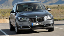BMW 5er Gran Tourismo, Facelift 2013, Frontansicht