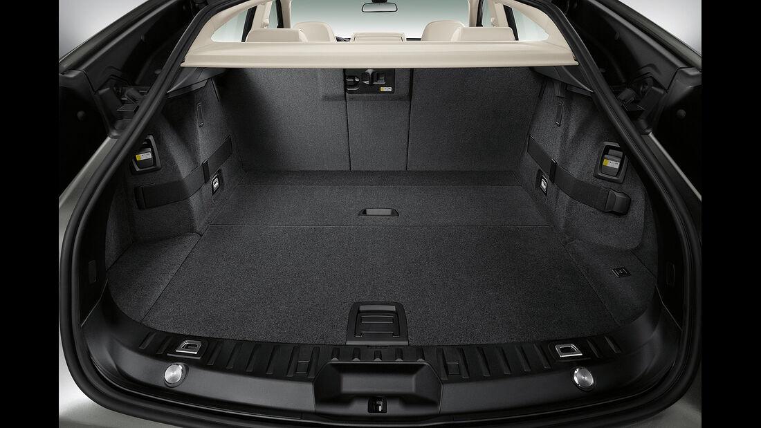 BMW 5er Gran Tourismo, Facelift 2013, Kofferraum