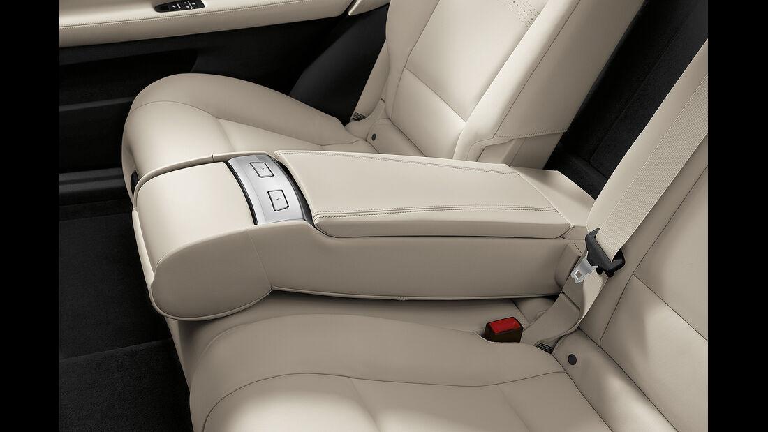 BMW 5er Gran Tourismo, Facelift 2013, Rückbanklehne