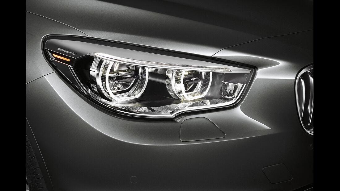 BMW 5er Gran Tourismo, Facelift 2013, Scheinwerfer