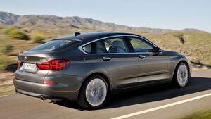 BMW 5er Gran Tourismo, Facelift 2013, Seitenansicht
