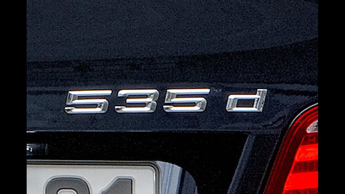 BMW 5er Heckansicht