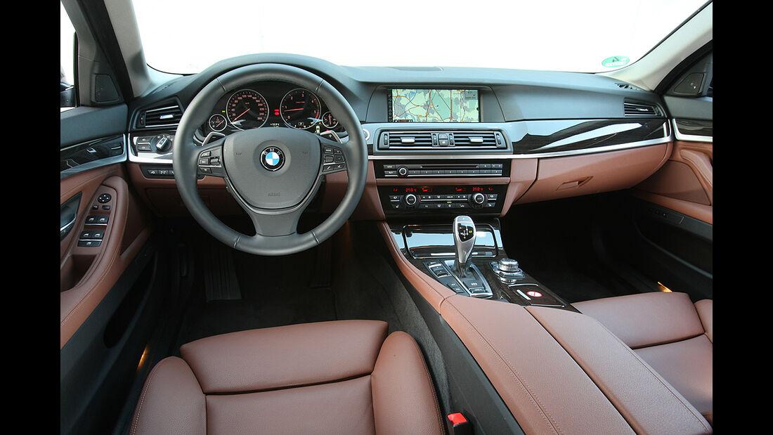BMW 5er, Innenraum, Cockpit