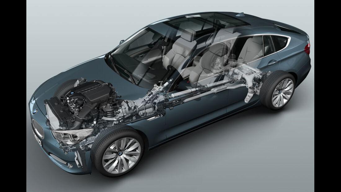 BMW 5er Kaufberatung, BMW 5er GT, Allradantrieb