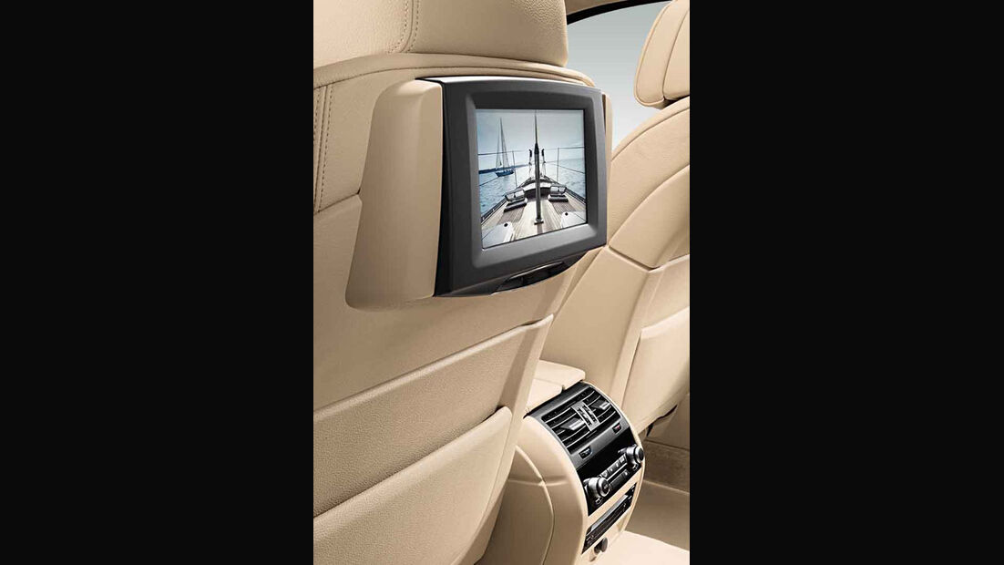 BMW 5er Kaufberatung, Fond-Entertainment