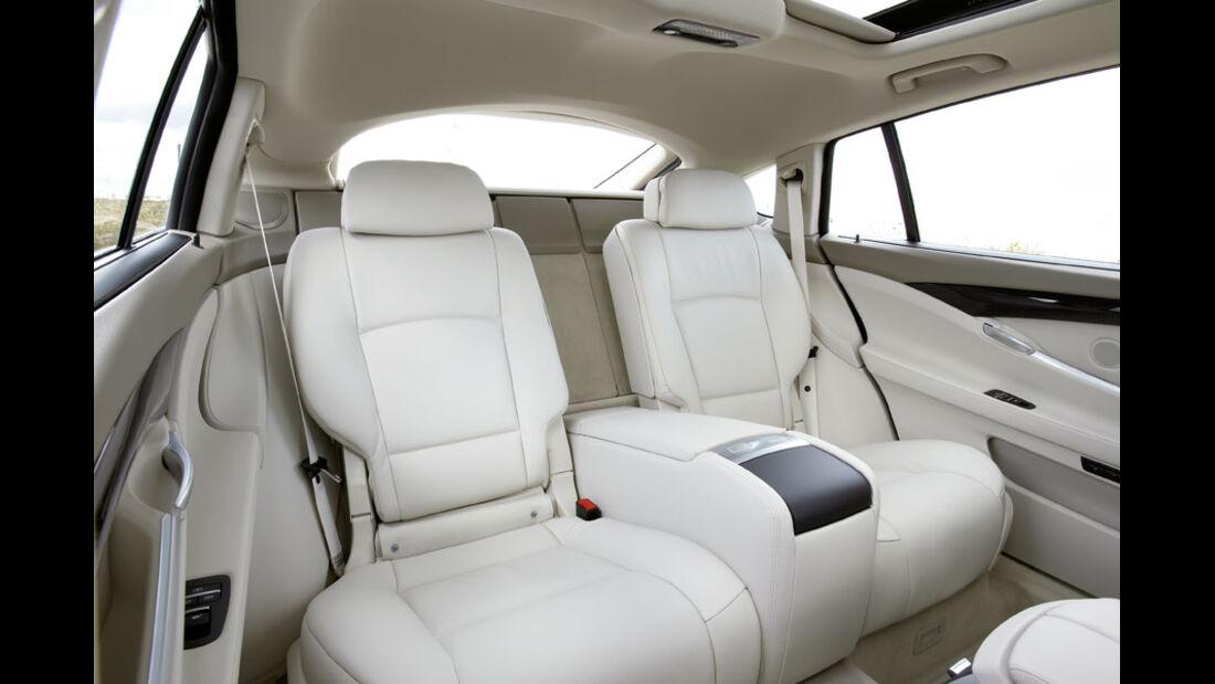 BMW 5er Kaufberatung, Fond, Komfortsitze