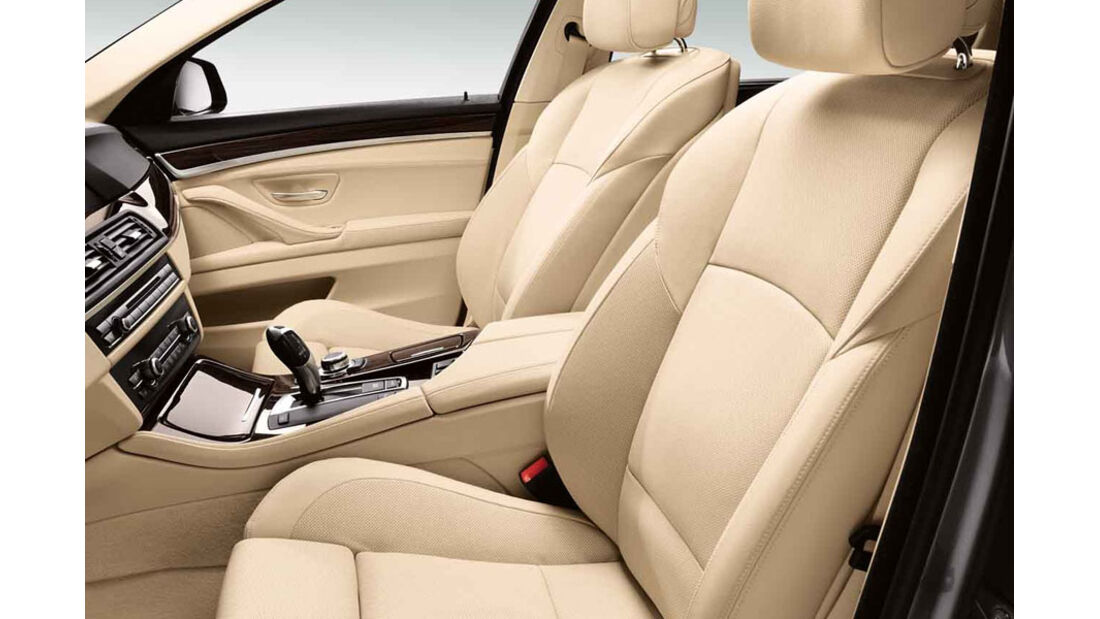 BMW 5er Kaufberatung, Komfortsitze