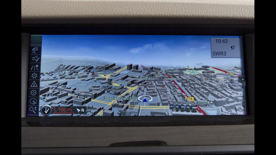 BMW 5er Kaufberatung, Navigationssystem Professional