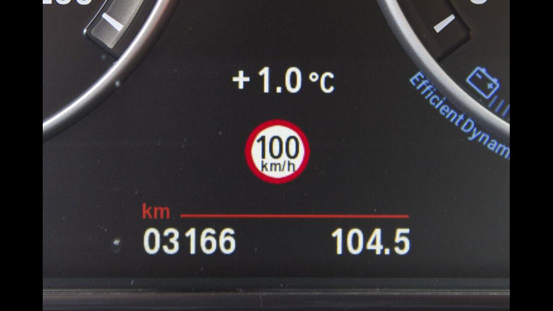BMW 5er Kaufberatung, Speed Limit Info