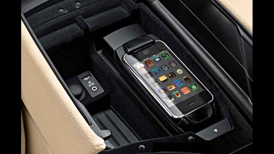 BMW 5er Kaufberatung, USB-Anschluss