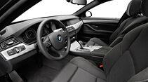 BMW 5er M-Sportpaket, Innenraum