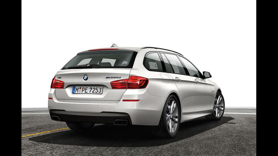 BMW 5er M550d Sperrfrist 22.8.2013