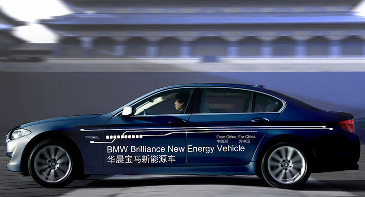 BMW 5er Plug-in-Hybrid China