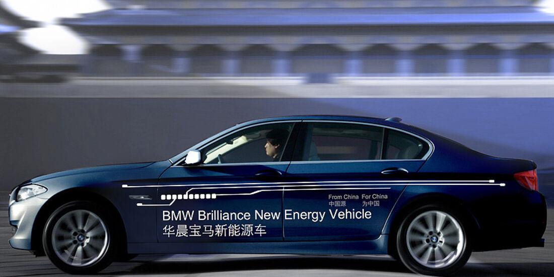 BMW 5er Plug-in-Hybrid China