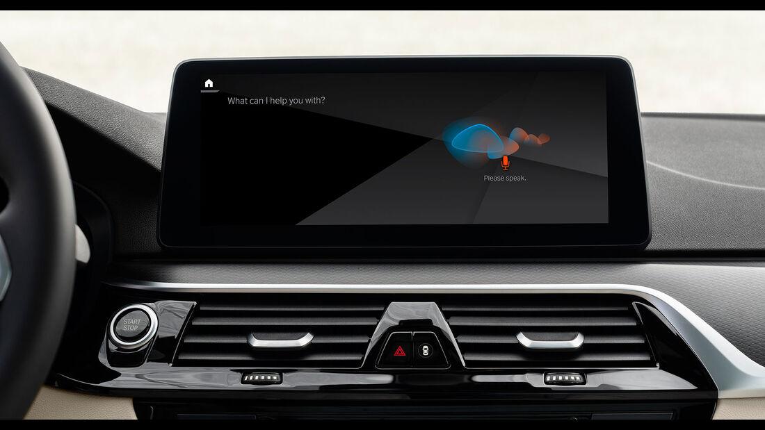 BMW 5er Reihe, Intelligent Personal Assistant
