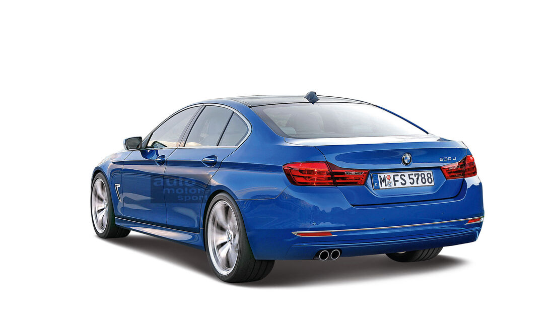 BMW 5er Retusche