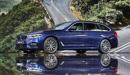 BMW 5er Touring 2017.