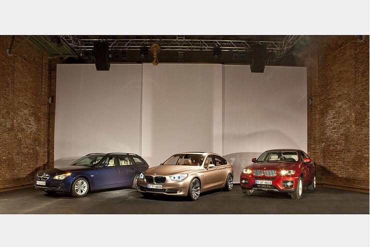 BMW 5er Touring, 5er GT, X6