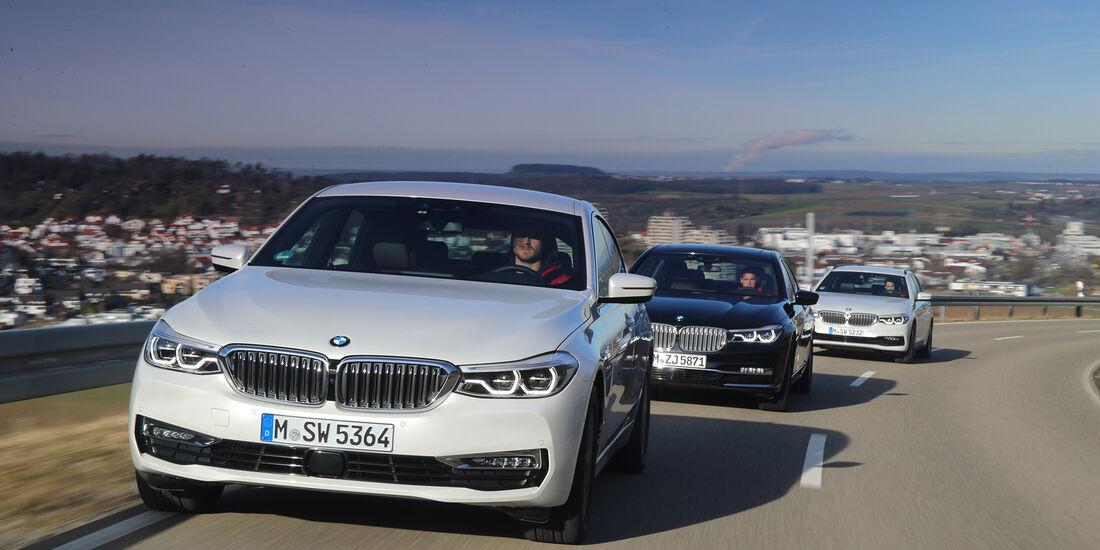 Bmw 5er Touring 6er Gt Und 7er Lang Im Konzeptvergleich Auto