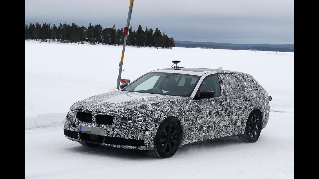 BMW 5er Touring Erlkönig 03/2016