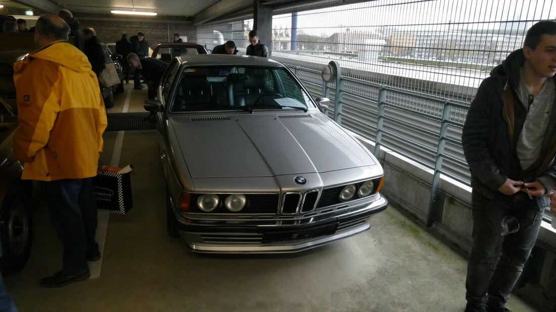 BMW 628 CSI auf der Bremen Classic Motorshow 2020
