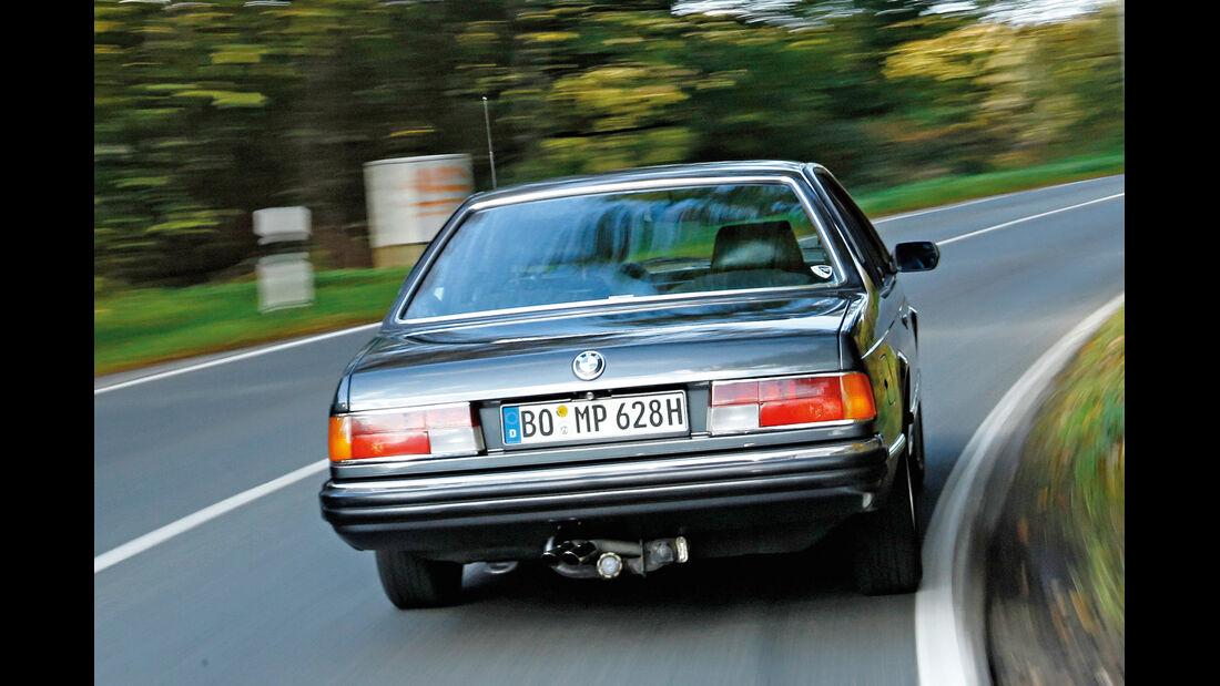 BMW 628 CSi (E24), Heckansicht