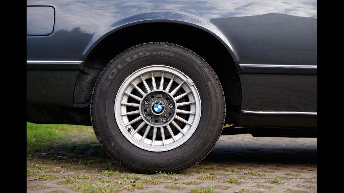 BMW 628 CSi (E24), Rad, Felge